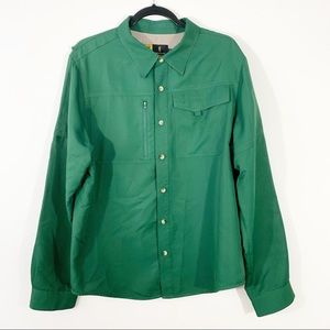 Browning . Button Front L/S Shirt . XL